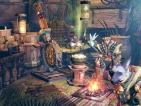《怪物猎人:崛起》发布休息营地实机演示视频