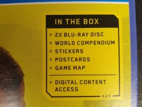 网曝《赛博朋克2077》PS4游戏包装 含2张蓝光光碟 送游戏地图