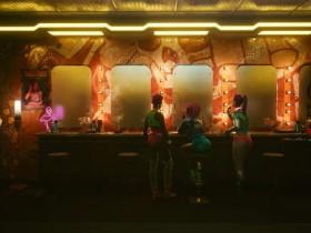 外网分享《赛博朋克2077》4K光追截图 夜之城光鲜亮丽