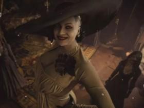 《生化危机8》里的高个贵妇人火了 玩家:想在游戏里被她弄死