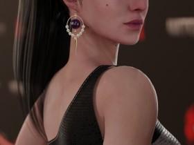 """《巫师3:狂猎》三女主参加""""巫师之夜"""" 希里绝美女王"""