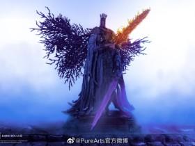 PureArts《黑魂3卡盟》教宗沙力万1/7雕像亮相 教宗收手吧门外全是小皮盾