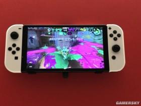 Nintendo Switch OLED版造型实拍 更窄边框、黑白配色超美